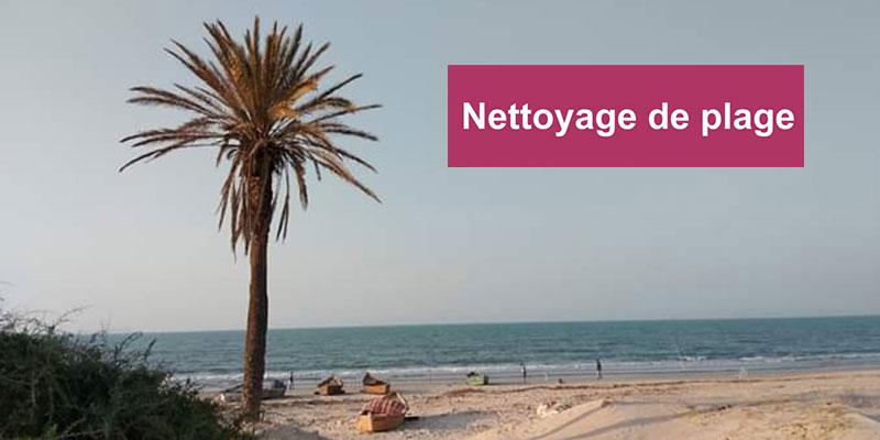 Opération de nettoyage de la plage de Borj Cedria et Bir El Bey