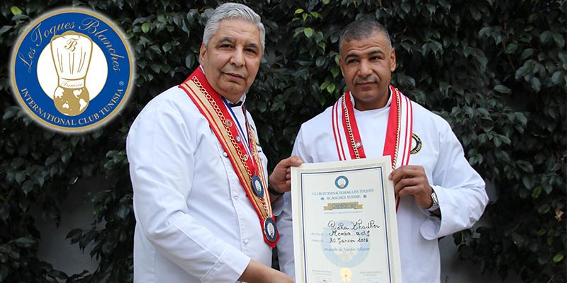 En vidéo : Ridha Khadher le boulanger de l'Elysée honoré A Tunis