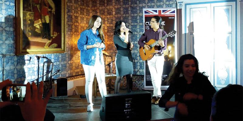En vidéo : Un concert en hommage aux Tunisian Women in culture à la Résidence britannique