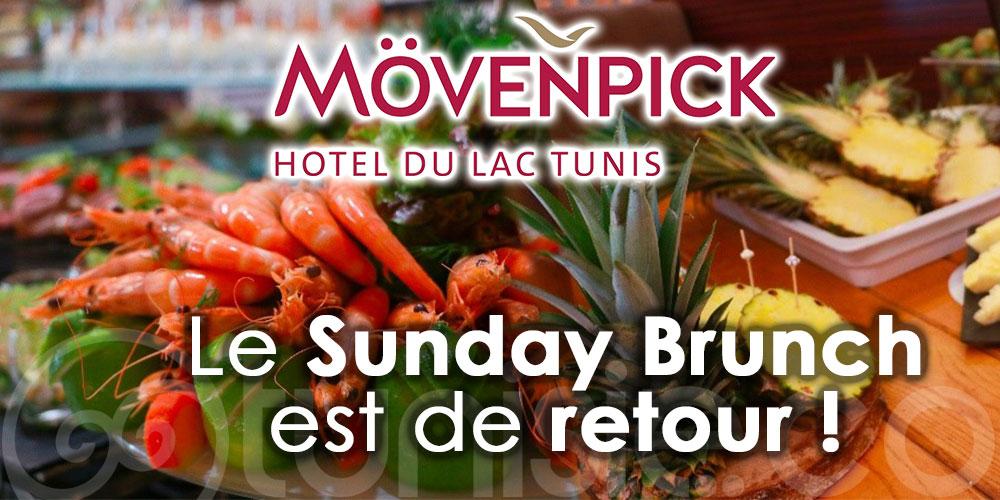 ''Le Sunday Brunch'' du Mövenpick Hotel du Lac Tunis est de retour le dimanche 3 Octobre 2021
