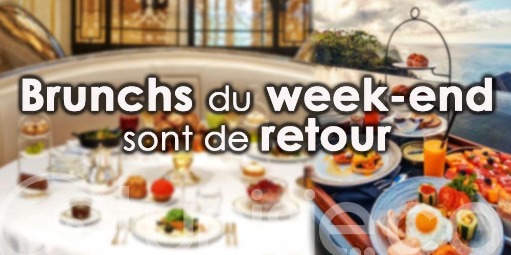 Bonne nouvelle… Les brunchs du week-end sont de retour !