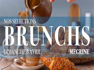 Sélection des Brunchs à Megrine pour ce dimanche 8 Avril