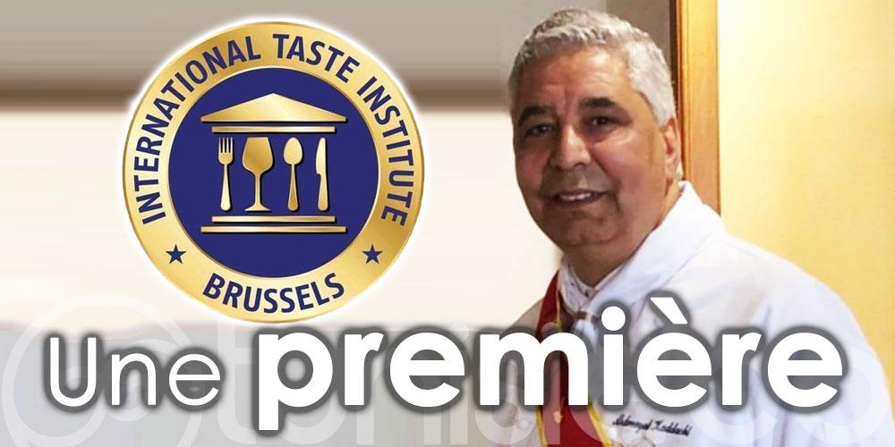 Kaddachi Abderrazak, 1er chef tunisien dégustateur à L'international Taste Institute