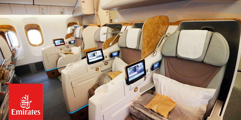 Découvrez l'Expérience Business Class de Emirates entre Tunis et Dubai