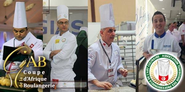 Ces chefs tunisiens qui représenteront la Tunisie à la Coupe d´Afrique de la boulangerie 2017