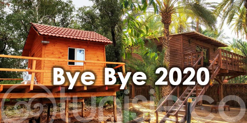 Dites ''Bye Bye 2020'' depuis votre cabane dans les arbres