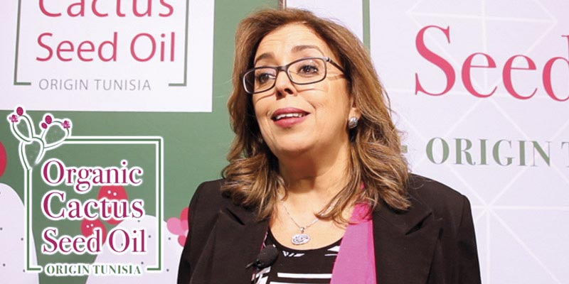 En vidéo : Découvrez avec Samia Maamer le programme national «Organic Cactus Seed Oil - Origin Tunisia »