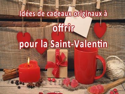 En photos : Ces cadeaux originaux à offrir à sa dulcinée pour la Saint-Valentin