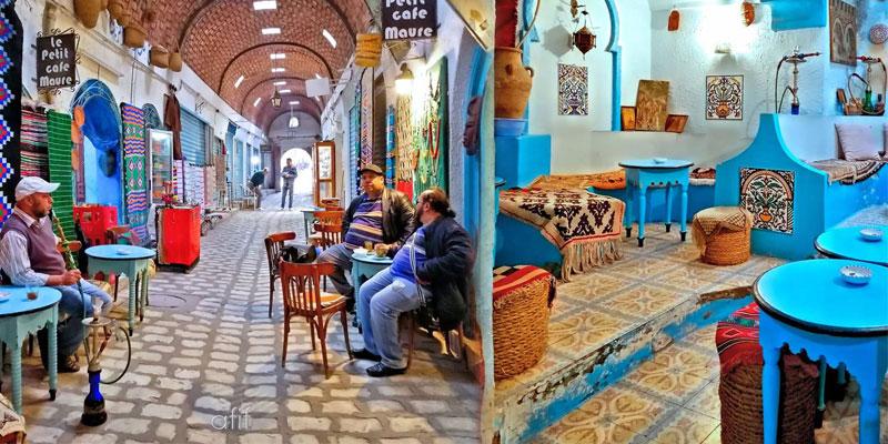 En photos: Le Petit Café Maure à Sousse retrouve son éclat