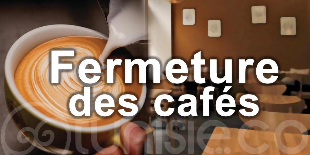 Fermeture des cafés à Sbeitla