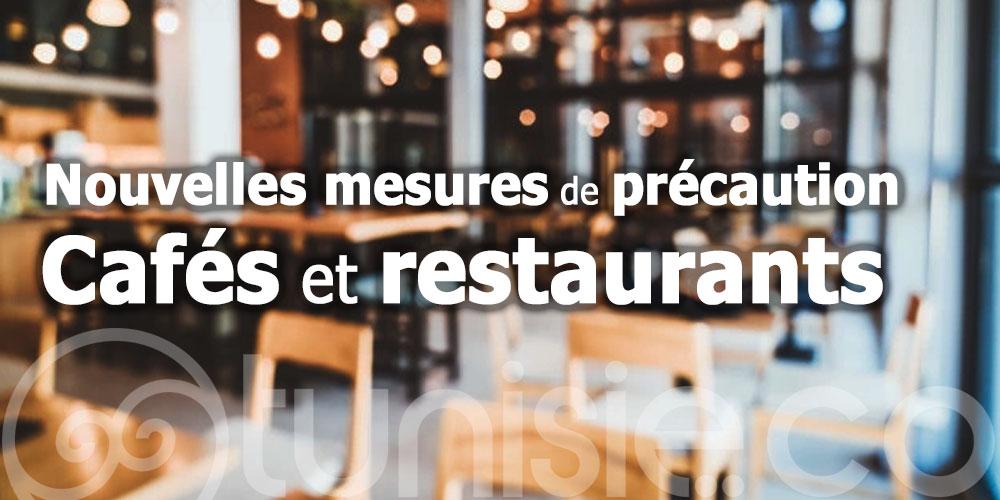 De nouvelles mesures de précaution dans les cafés et restaurants