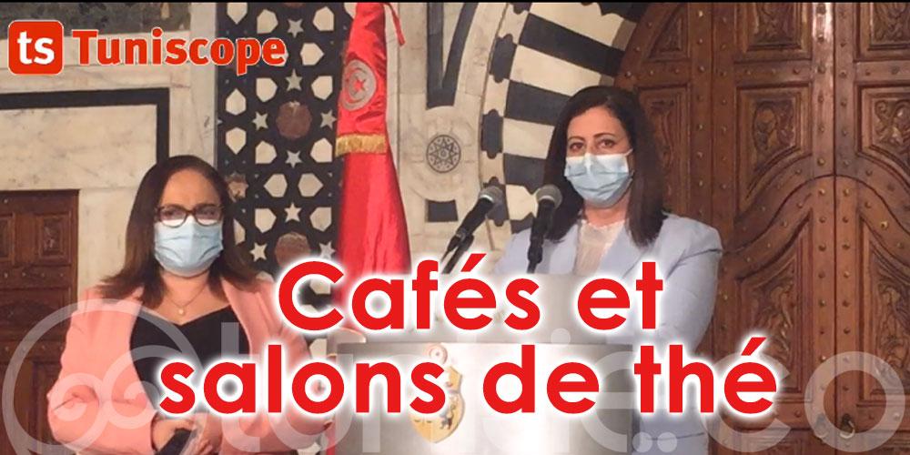 Cafés et salons de thé : Interdiction des espaces Intérieurs