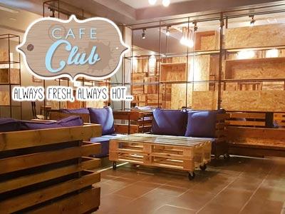 Café Club, un nouveau salon de thé au coeur de  Hammamet