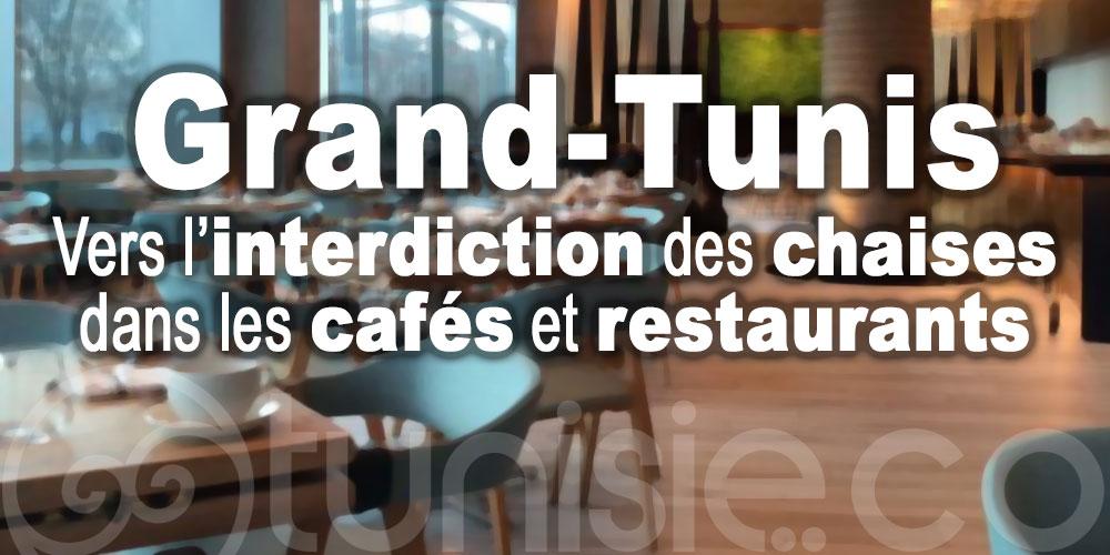 Grand-Tunis: Vers l'interdiction des chaises dans les cafés et restaurants