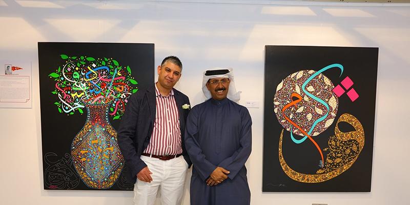 Les calligraphies de Raouf Maftah exposées à Abu Dhabi