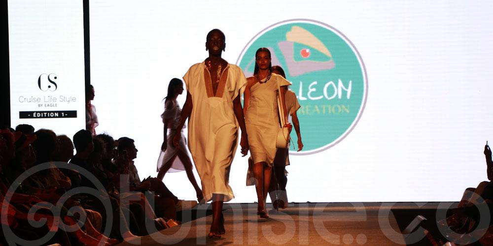 Découvrez les magnifiques créations de Caméléon lors de la 1ère édition du défilé Cruise Life Style