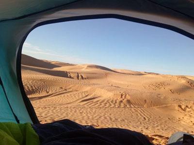 Les meilleures photos instagrammés de camping en Tunisie