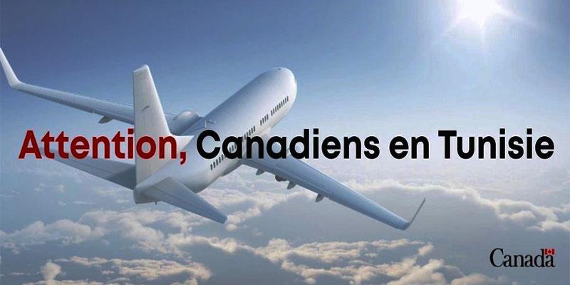 Tunisair: Un deuxième vol commercial de retour au Canada