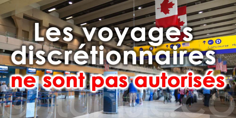 Tunisair : Seuls les déplacements essentiels sont possibles vers le Canada