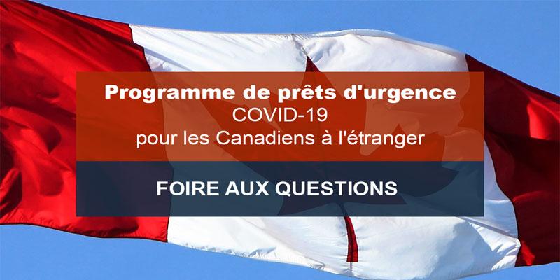 Programme de prêts d'urgence liés à la COVID-19 pour les Canadiens à l'étranger