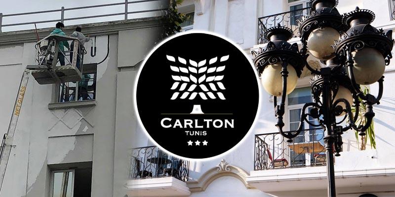 Grace à l'hôtel CARLTON, Tunis sera dotée de sa plus grande fresque artistique