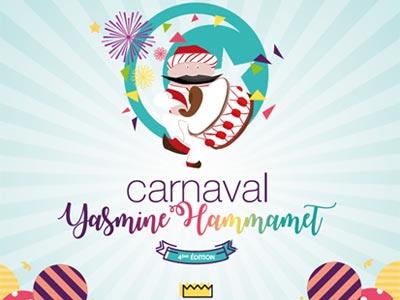 La 4ème édition du Carnaval de Yasmine Hammamet les 15 et 16 avril
