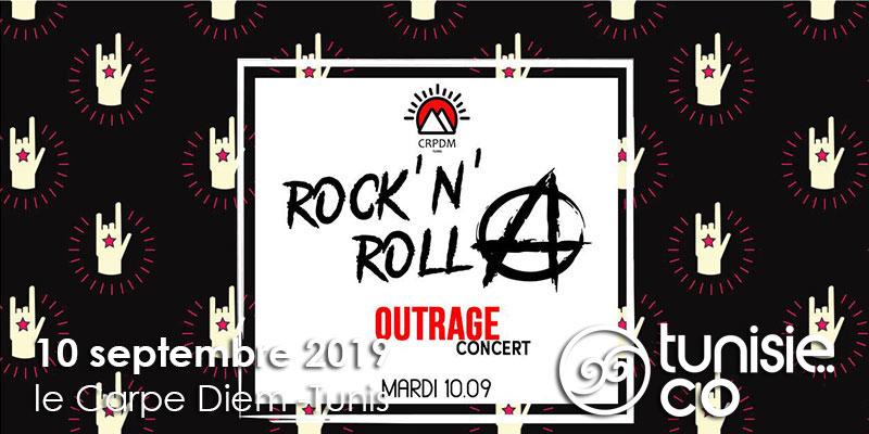 ROCK' N' ROLLA : Outrage en Concert