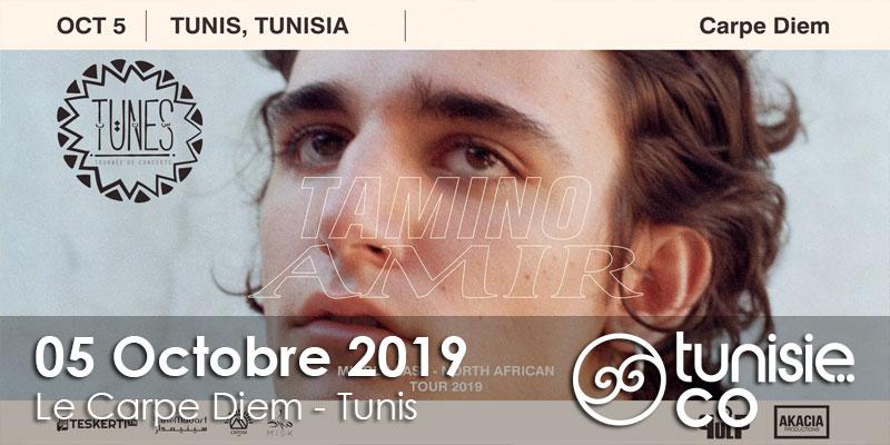 Tunes 10 Tamino en concert le 05 Octobre 2019