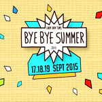 Bye Bye Summer du 17 au 19 Septembre au Carpe Diem