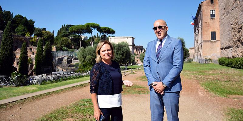 Carthage arrivera finalement à Rome ce 26 septembre