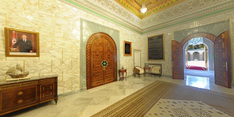 Visitez le palais présidentiel de Carthage grâce à cette VR