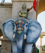 Journée de Aid Al Fitr au parc d'attractions Carthage Land