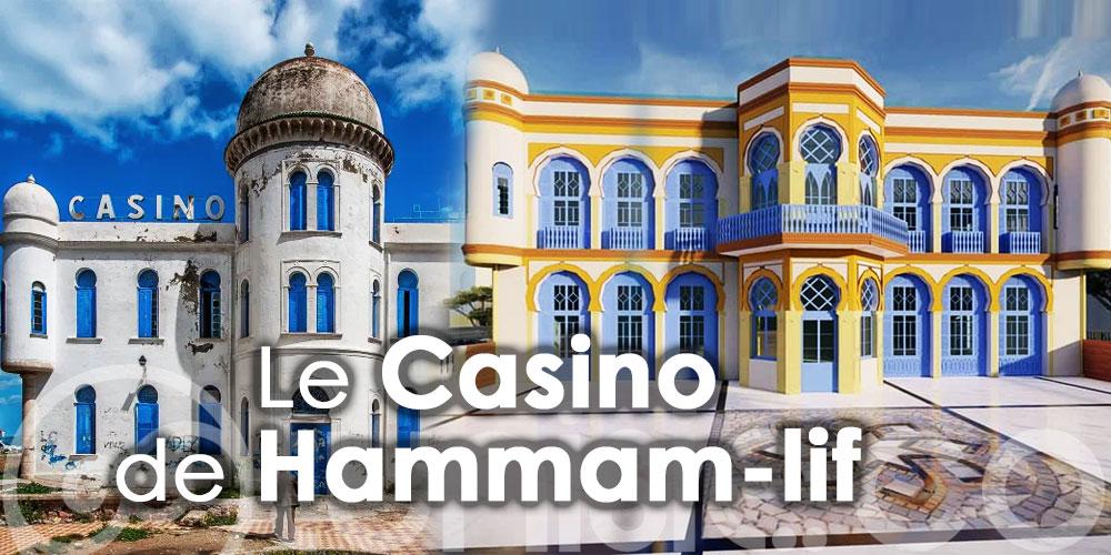 Le nouveau Casino de Hammam-lif se dessine petit à petit ...