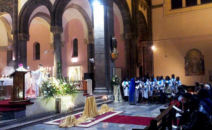 La fête de NoÃ«l à la Cathédrale de Tunis