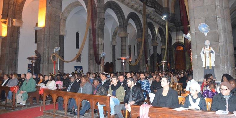 Célébration de Noel à la Cathédrale de Tunis
