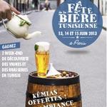 Fête de la bière tunisienne du 13 au 15 juin 2013 à Paris