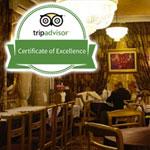 Le restaurant El Walima reçoit le Certificat d'Excellence TRIPADVISOR 2015