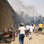 Incendie au Chak Wak de Tozeur : 700 palmiers calcinés