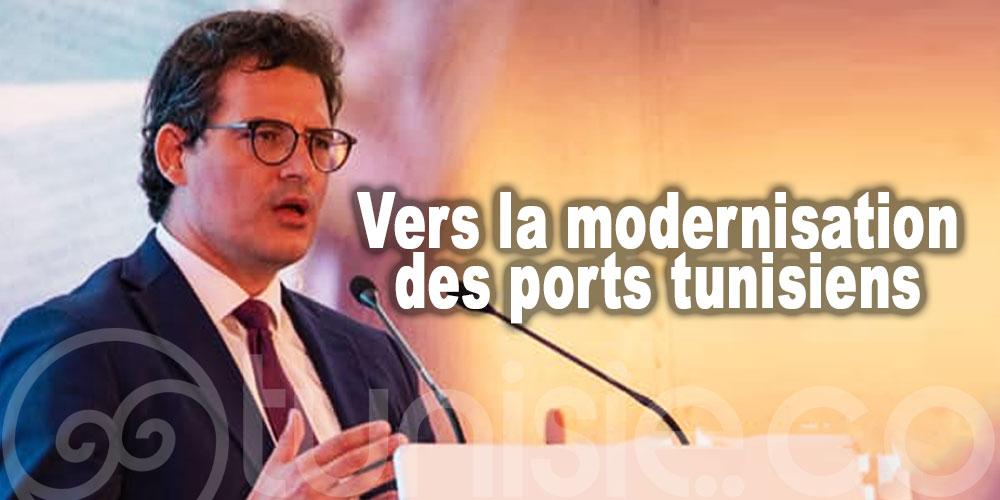 Vers la modernisation des ports tunisiens