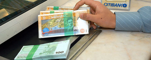 Monnaie étrangère en Tunisie
