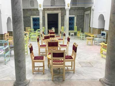 Découvrez le Château de la Médina, le nouveau café à la Médina de Tunis