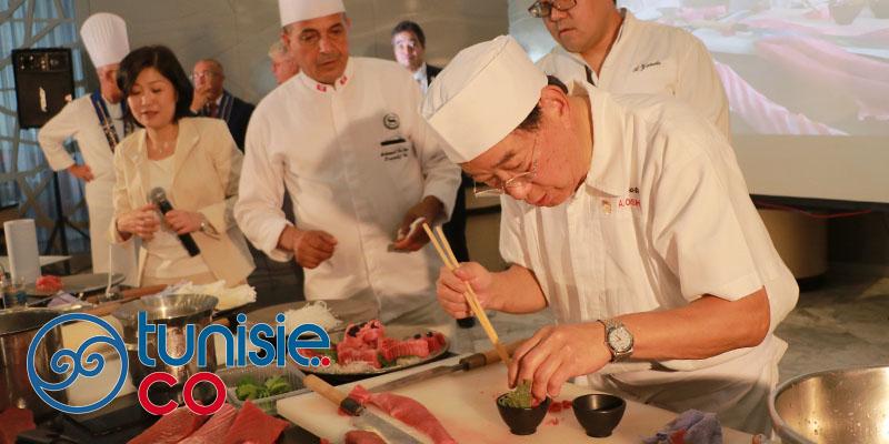 Le chef étoilé Akira Oshima à la semaine gastronomique Japonaise de Tunis