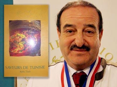 En vidéo : Chef Rafik Tlatli parle de son livre Saveurs de Tunisie