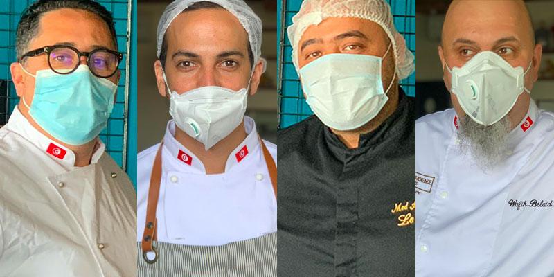 Les chefs se mobilisent pour les repas du Corps Médical