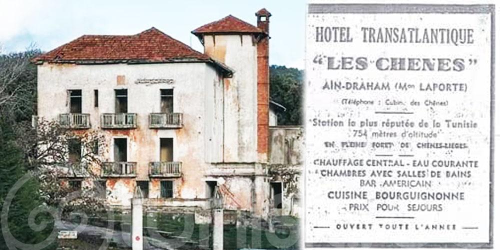 Les travaux de rénovation de l'hôtel ''Les Chênes'' ont, enfin, commencé !