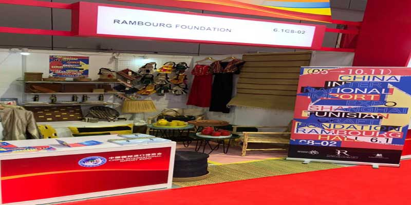 La Fondation Rambourg représente la Tunisie au China International Import Exhibition (CIIE)