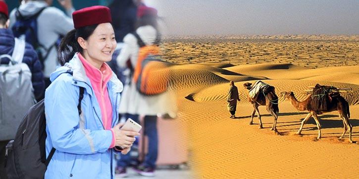 Le Sahara en Tunisie parmi les destinations les plus attrayantes pour les touristes chinois