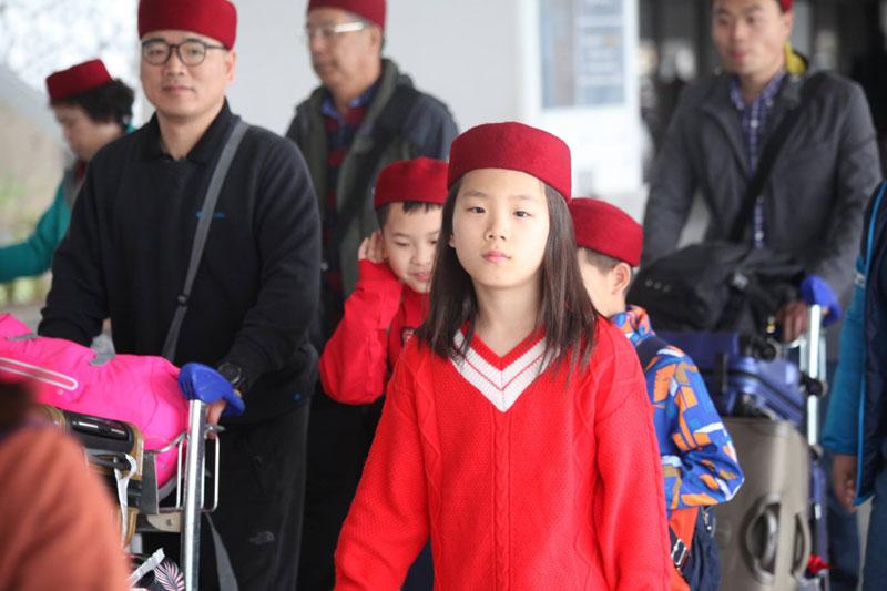 En photos : Arrivée du premier charter de touristes chinois en Tunisie