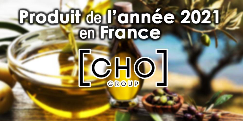L'huile d'olive CHO, produit de l'année 2021 en France