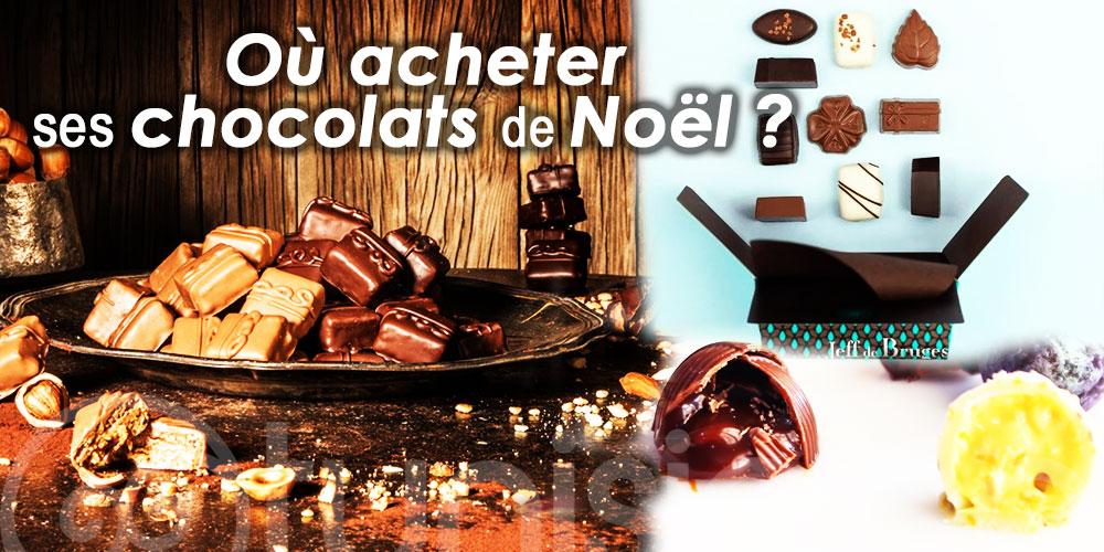 Où acheter ses chocolats de Noël : le top 7 des meilleurs chocolatiers